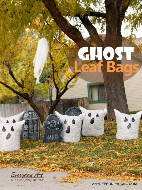 hinh-anh-halloween-de-thuong-ghost-leaf-bags
